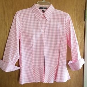 A women's blouse.